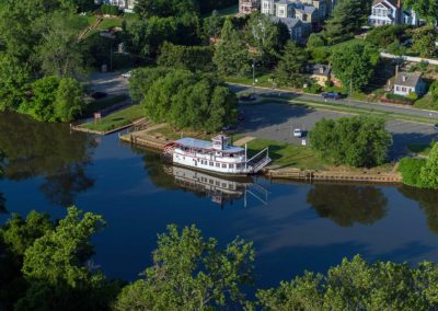 """City of Fredericksburg"" Paddle Wheel Boat"