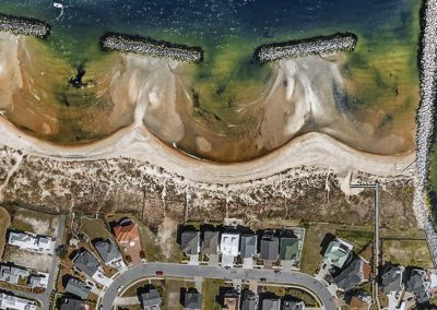Vertical View for Shoreline Studies - Norfolk Virginia