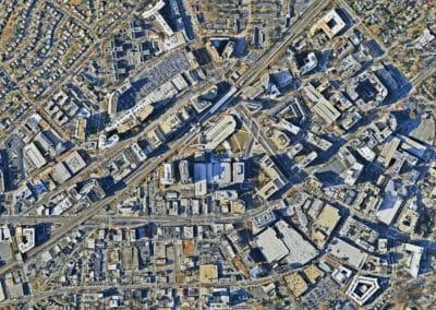 Vertical View of Silver Spring Maryland